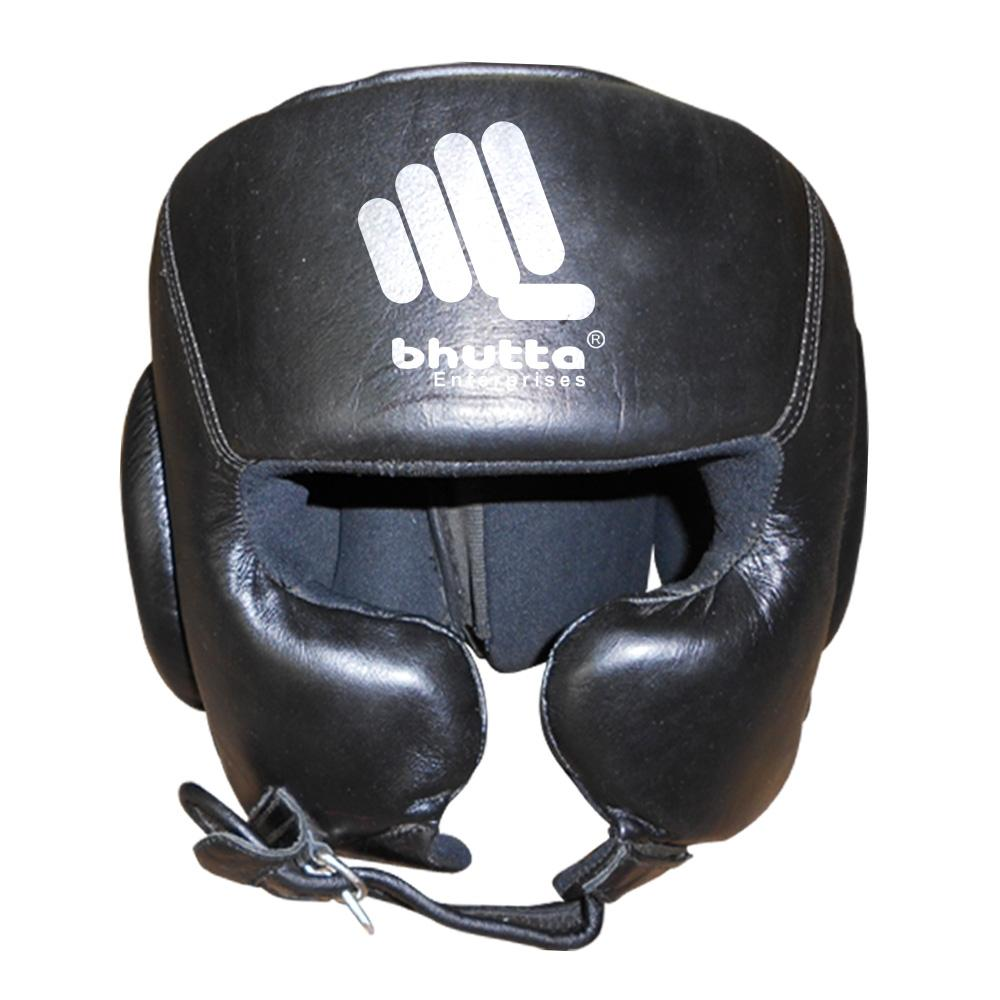 <p>Head Guards Made Of Fine Grade Cowhide Leather Inside Rubber &amp; Special High Density Foam Padding For Extra Protection For Face &amp; Ears With Velcro Strap Closing. </p>