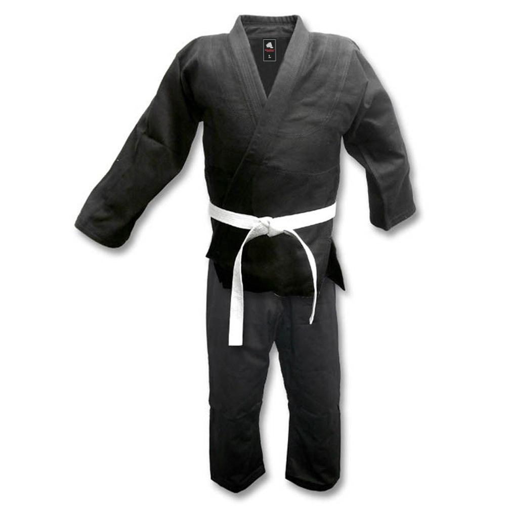 <p>IJF JUDO UNIFORM Set includes jacket, pants, and a white belt. 100% Cotton single weave fabric. Reinforced, double stitched flat seams. Full cut design and 3-piece pant gusset.</p>