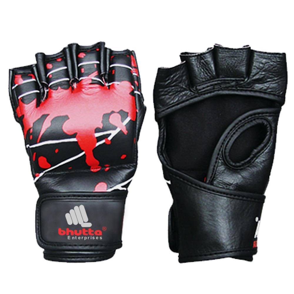 <p>Sublimation MMA Grappling Gloves is Made of Cowhide Leather, inside rubber Padded,Wrap around Hook &amp; loop closure Available in any color or size Custom Logo &amp; Design Possible.<br />